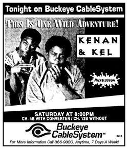 1996 Buckeye CableSystem Kenan & Kel ad.jpg