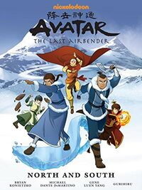 Avatar The Last Airbender North and South Book