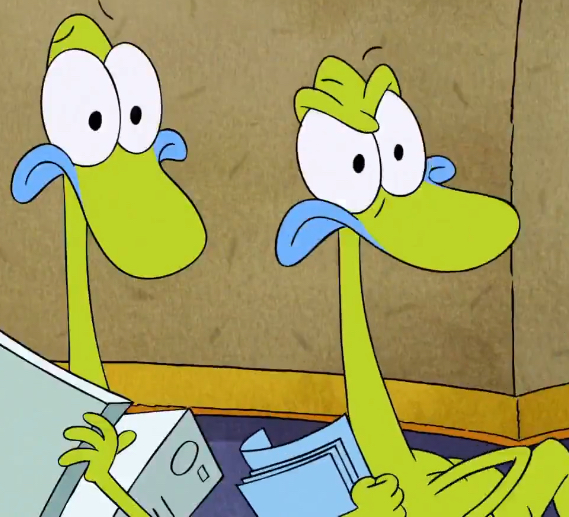 Chuck and Leon Chameleon