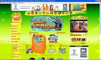 Nickelodeon website from october 2007 by mnwachukwu16 de7853t
