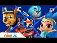 Highflying Rescues w- PAW Patrol, Blaze, Top Wing, Nella & More! 🎶 - Music Video - Nick Jr.