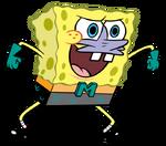 SpongeBob as Mermaid Man
