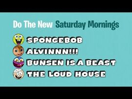 Do the New Saturday morning line-up.jpg