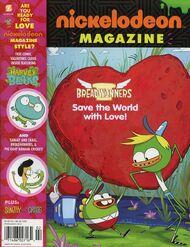 Nickelodeon Magazine cover February 2016 Breadwinners