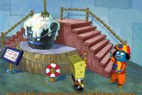 Spongebob squarepants lights camera pants 14