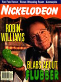 Nickelodeon magazine cover december 1997 robin williams