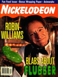 Nickelodeon magazine cover december 1997 robin williams