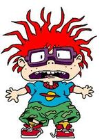 Chuckie Finster scared