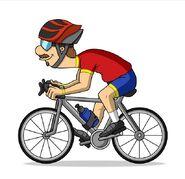 TJM Guy on a bike