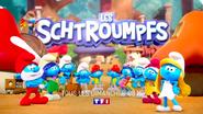 Les Schtroumpfs (original language) title card