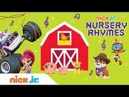 Nursery Rhymes w- PAW Patrol, Blaze, Bubble & More 🐷 'Old Macdonald' - Sing-Along - Nick Jr.