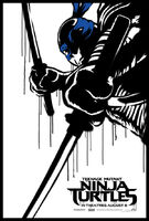 Teenage-Mutant-Ninja-Turtle-Street-Poster-Leonardo-600x887