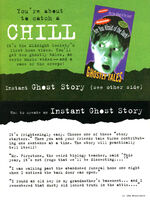 Are you Afraid of the Dark ghost story ad NickMag April May 1994