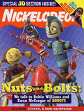 Nickelodeon magazine cover march 2005 robots