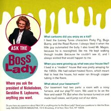 Ask the Boss Lady Geraldine Laybourne Nick Mag November 1995.jpg