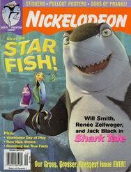 Nickelodeon Magazine cover October 2004 Shark Tale