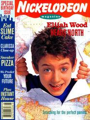 Nickelodeon Magazine cover Aug Sept 1994 Elijah Wood North
