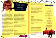 Nickelodeon Magazine Holiday 1993 Dana Carvey interview Waynes World Garth Algar p72 p75