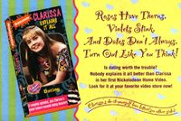 Clarissa Explains It All Dating VHS ad NickMag feb mar 1994