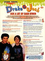 Drake Josh interview Nick Mag Aug 2004