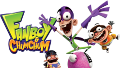 Fanboy and Chum Chum logo with characters.png