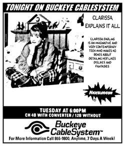 1997 Buckeye CableSystem Clarissa Explains It All ad.jpg