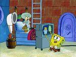 SpongeBob puppet show