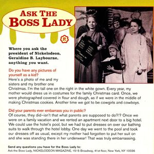 Ask the Boss Lady Geraldine Laybourne Nick Mag December 1995.jpg