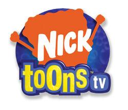 The original Nicktoons TV logo.
