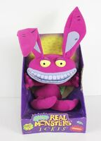 Aaahh!!! Real Monsters Ickis plush