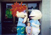 Chuckie and Tommy are here to see him