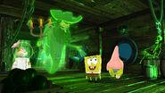 SpongeBob SquarePants 4D The Great Jelly Rescue SpongeBob, Patrick & Sandy with the Flying Dutchman