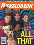 Nickelodeon Magazine cover August 1999 All That