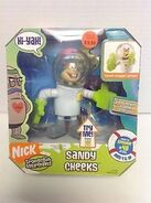Sandy Cheeks Talking toy