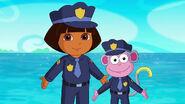 Cop Dora and Cop Boots
