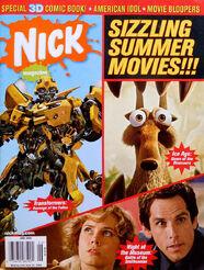 Nick Magazine cover June 2009 Summer movies