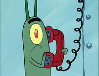 Plankton Fear Of A Krabby Patty.