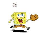 SpongeBob Baseball 1