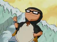 Penguin-suited sam