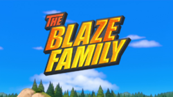 The Blaze Family title card.png
