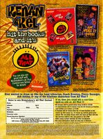 Nickelodeon magazine October 1998 kenan & Kel All that advertisement