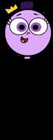 Poof balloon stock image