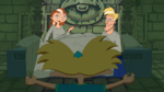 Arnold reunites with his parents