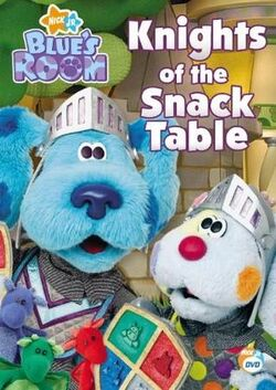 Blue's Room Knights of the Snack Table DVD.jpg