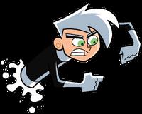 Danny Phantom phasing through