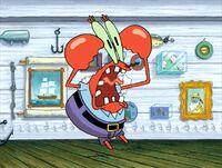 Krabs screaming