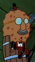 Harold SquarePants in Fancy Clothes