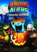Monsters Vs. Aliens - Creature Features 2014 DVD Cover (Redbox Exclusive).jpg