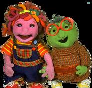 Poco and Allegra