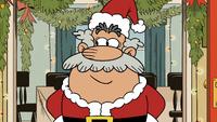 Flip as Santa